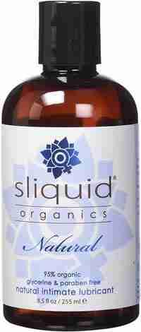 Lubrificante anale - Sliquid Organics Natural Intimate Lubrificante